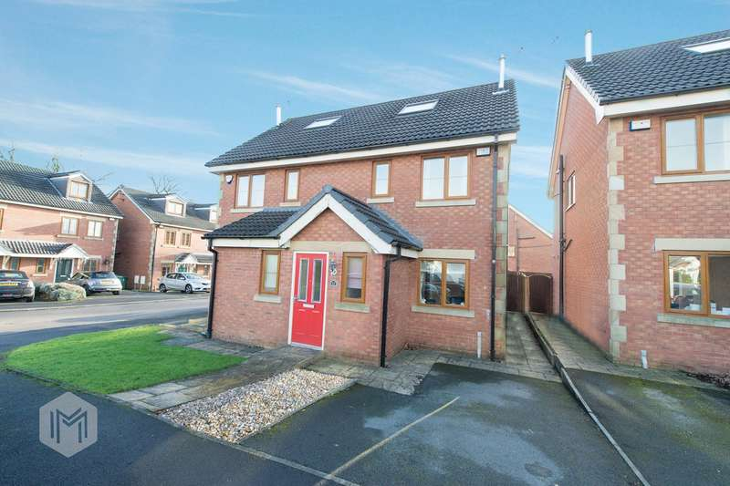 3 Bedrooms Semi Detached House for sale in Eagley Drive, Bury, BL8