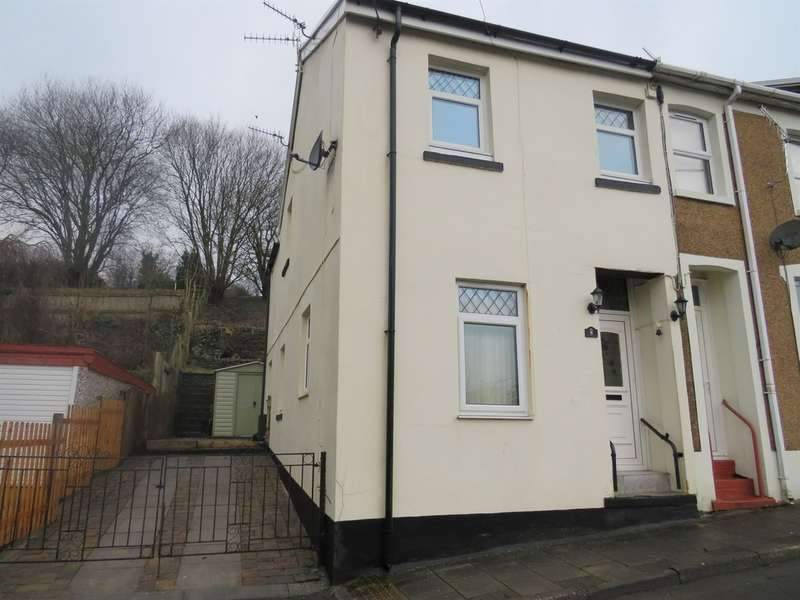 2 Bedrooms End Of Terrace House for sale in Sunnyview, Argoed, BLACKWOOD
