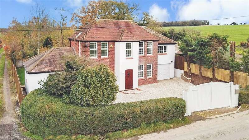 4 Bedrooms Detached House for sale in Wick Lane, , Woolage Green, Canterbury, Kent