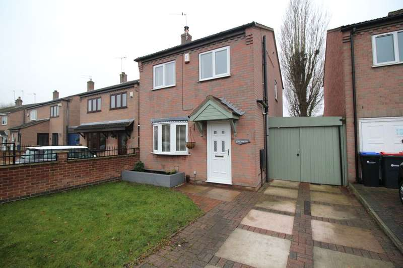 3 Bedrooms Detached House for sale in Polperro Way, Hucknall, Nottingham, NG15