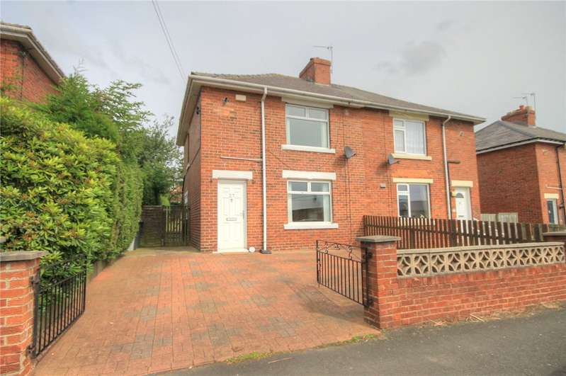 2 Bedrooms Semi Detached House for sale in Wansbeck Avenue, Stanley, Co. Durham, DH9