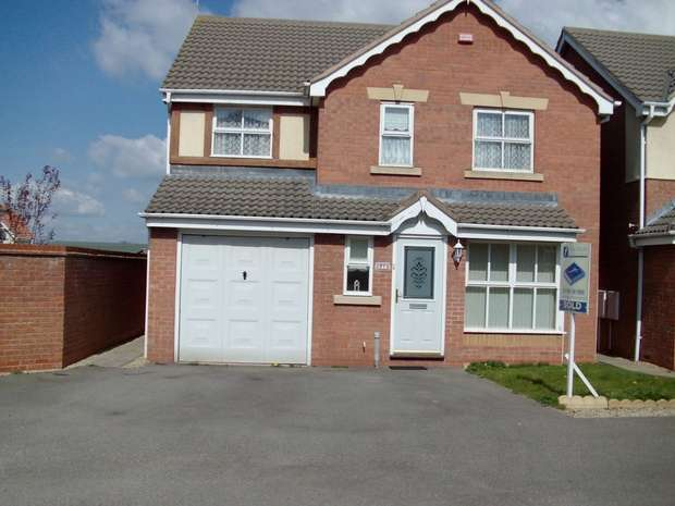 4 Bedrooms Detached House for rent in Braids Close, Clifton Links, RUGBY, Warwickshire