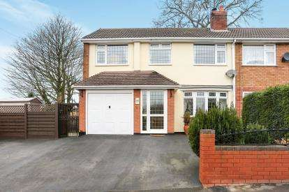 4 Bedrooms Semi Detached House for sale in Newlands Road, Baddesley Ensor, Atherstone, Warwicksire