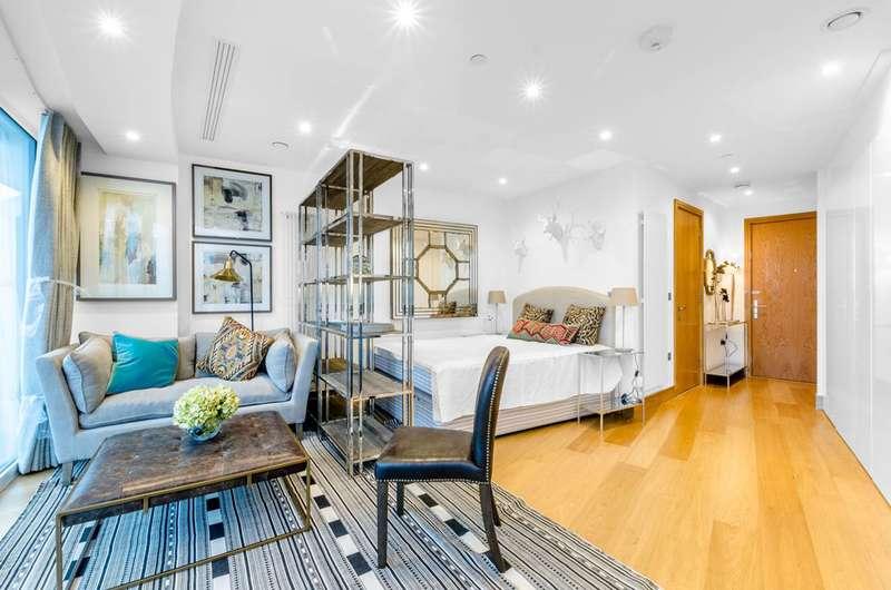Studio Flat for sale in Crossharbour Plaza, Docklands, E14