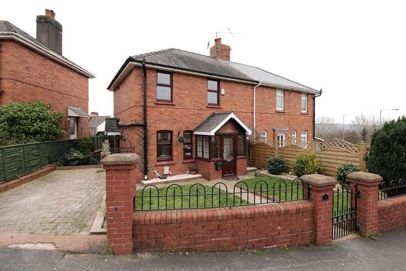 3 Bedrooms Semi Detached House for sale in Roman Way, Caerleon, Newport, NP18