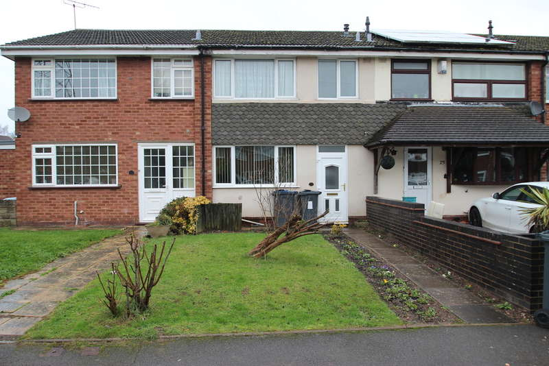 3 Bedrooms Terraced House for sale in Clover Drive, Bartley Green