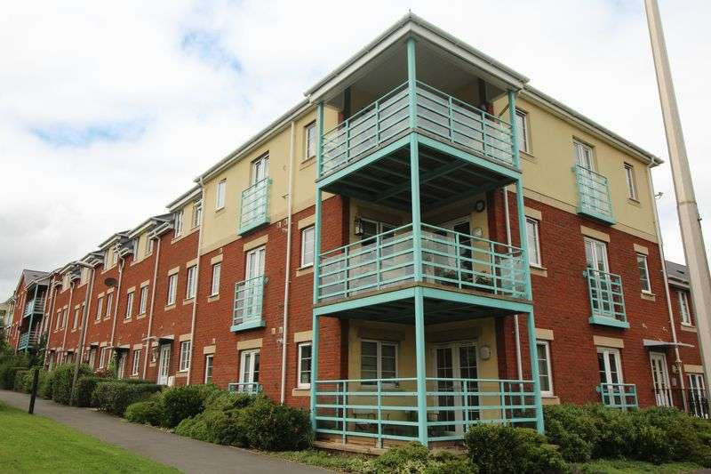 2 Bedrooms Property for sale in Russell Walk, Exeter