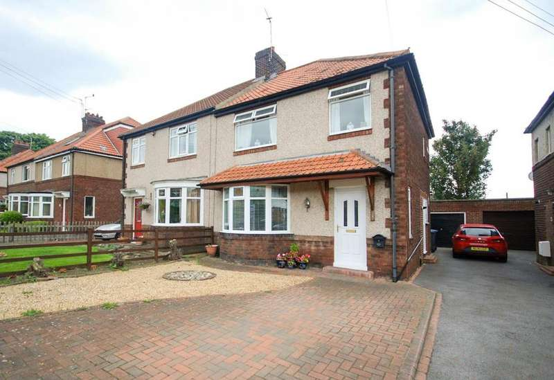 3 Bedrooms Semi Detached House for sale in Newcastle Road, Chester-Le-Street
