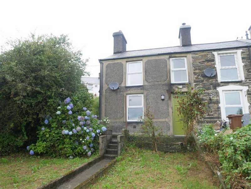 2 Bedrooms End Of Terrace House for sale in Blaenddol Terrace, Penrhyndeudraeth