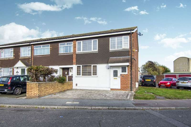 3 Bedrooms Terraced House for sale in Theydon Gardens, Rainham, Essex, RM13 7TU