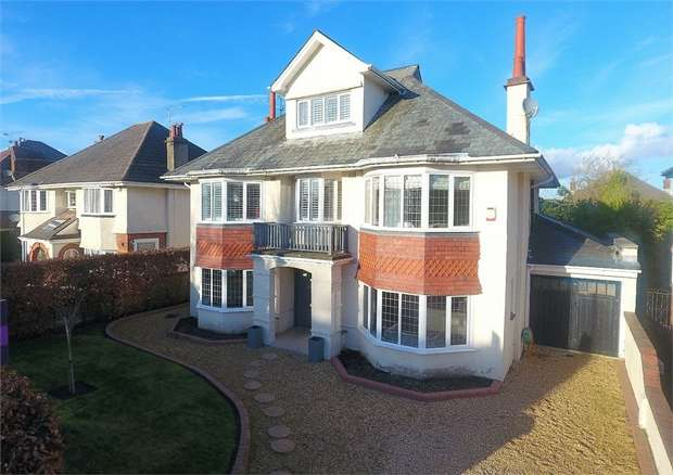5 Bedrooms Detached House for sale in Iddesleigh Road, Bournemouth, Dorset