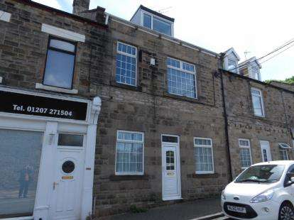 4 Bedrooms Terraced House for sale in Busty Bank, Burnopfield, Newcastle Upon Tyne, NE16