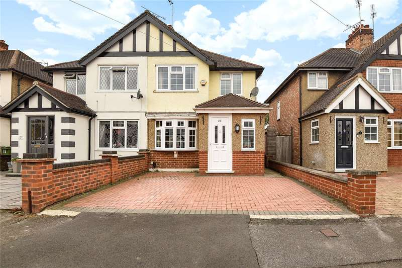 4 Bedrooms Semi Detached House for sale in Glisson Road, Hillingdon, Middlesex, UB10