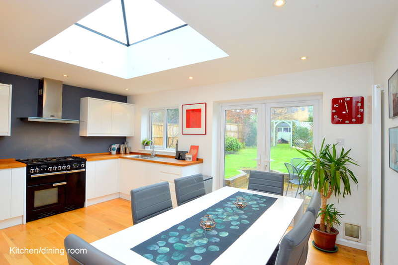 4 Bedrooms Semi Detached House for sale in Evesham Road North, Reigate