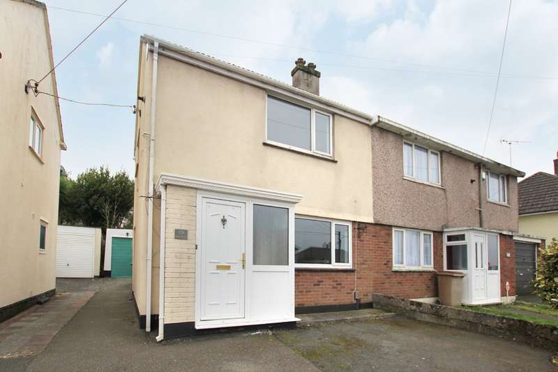 2 Bedrooms Semi Detached House for rent in Hooe, Plymouth