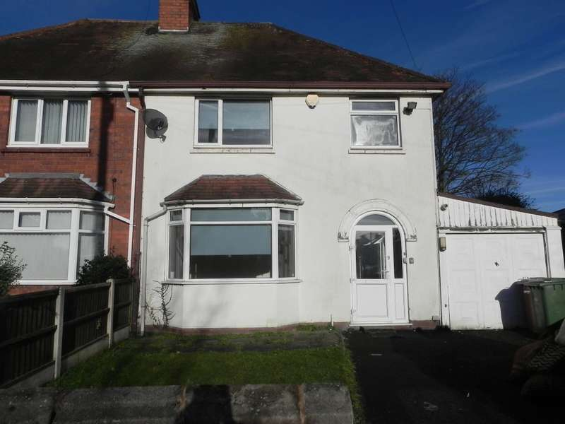 3 Bedrooms Semi Detached House for sale in Daisy Bank Crescent, Walsall, WS5 3BH