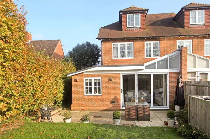 4 Bedrooms Semi Detached House for sale in Bowling Green, Compton, Guildford, Surrey, GU3