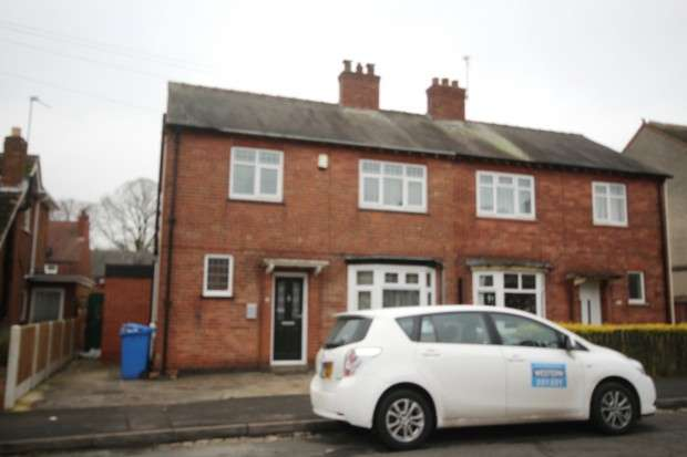 3 Bedrooms Semi Detached House for sale in Shamrock Street, Derby, DE23