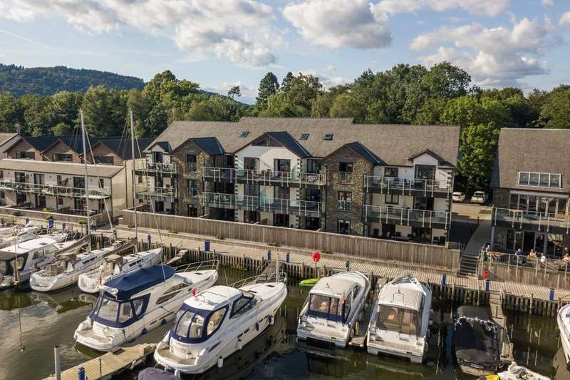 3 Bedrooms Apartment Flat for sale in 51 Windermere Apartments, Windermere Marina Village, Bowness On Windermere, Cumbria, LA23 3JQ