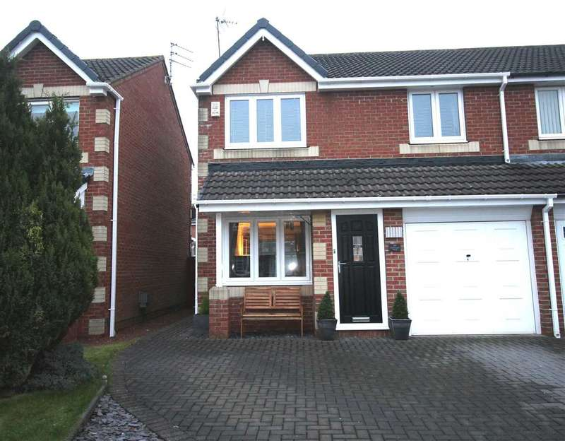 Semi Detached House for sale in Eastwood Place, Hartford Green, Cramlington
