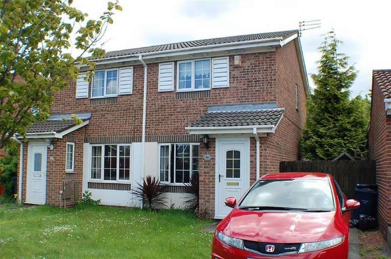 2 Bedrooms Semi Detached House for sale in Winslow Close, The Cotswolds, Boldon