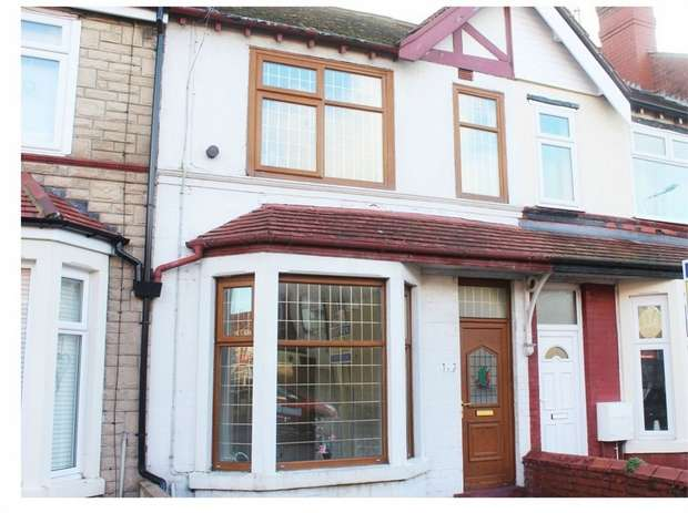 2 Bedrooms Terraced House for sale in Poulton Road, Fleetwood, Lancashire
