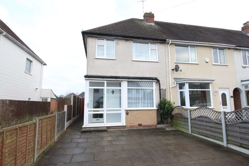 3 Bedrooms End Of Terrace House for sale in Shakespeare Road, Shirley, Solihull