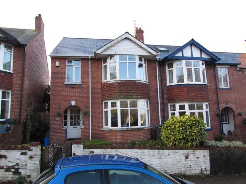 3 Bedrooms End Of Terrace House for sale in Marpool Hill, Exmouth