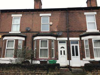2 Bedrooms Terraced House for sale in Vernon Avenue, Old Basford, Nottingham, Nottinghamshire