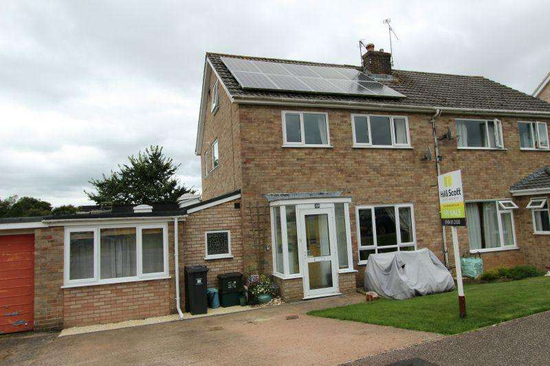 4 Bedrooms Semi Detached House for sale in SLADE CLOSE, OTTERY ST MARY