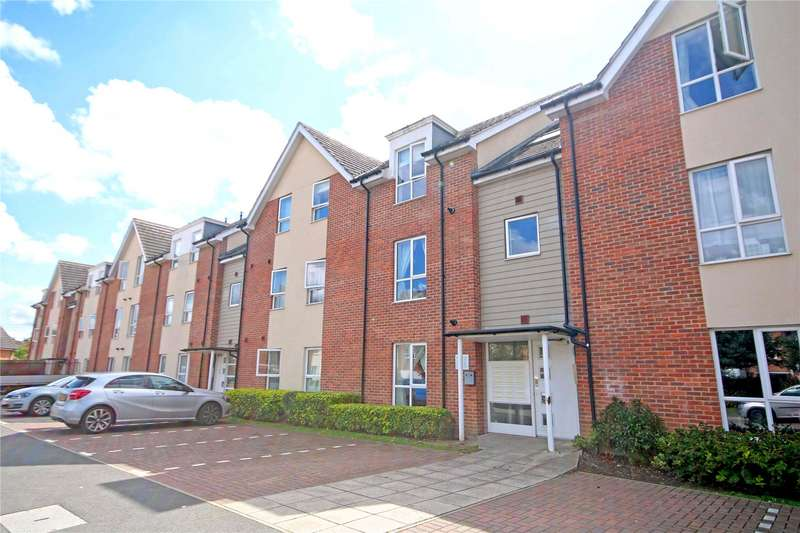 2 Bedrooms Apartment Flat for sale in Harrow Close, Addlestone, Surrey, KT15