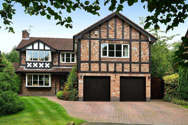 5 Bedrooms Detached House for sale in Hazelwood Road, Wilmslow