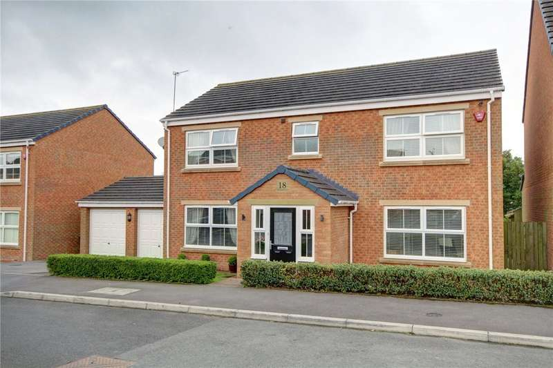 4 Bedrooms Detached House for sale in Pennine View, Sherburn Hill, Durham, DH6