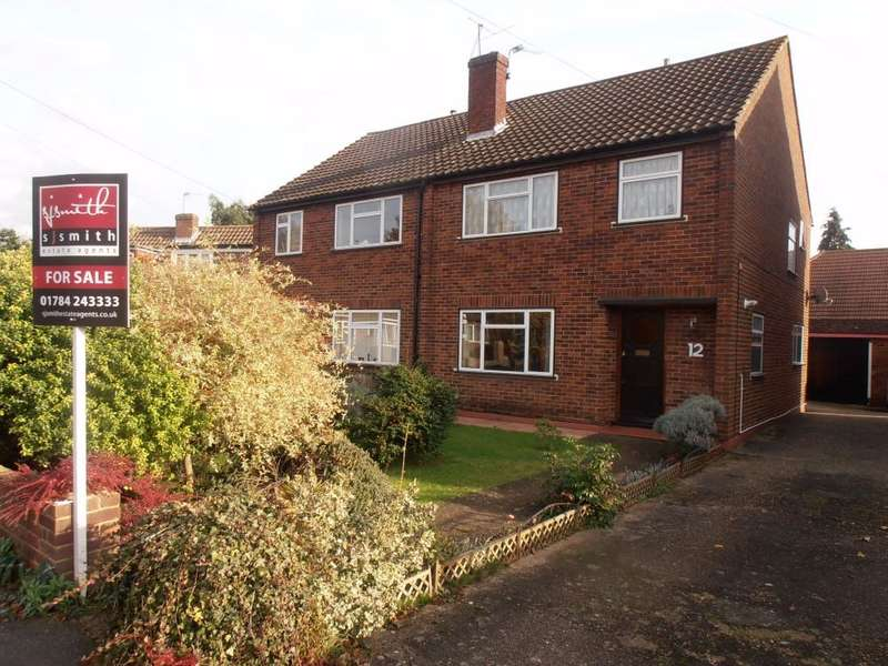 3 Bedrooms Semi Detached House for sale in Fairways, Ashford, TW15