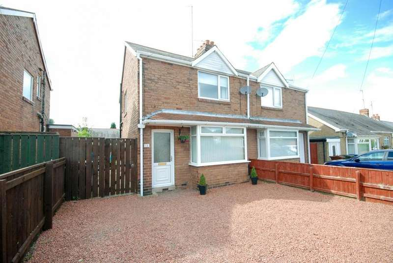 2 Bedrooms Semi Detached House for sale in Brandon Road, Fawdon