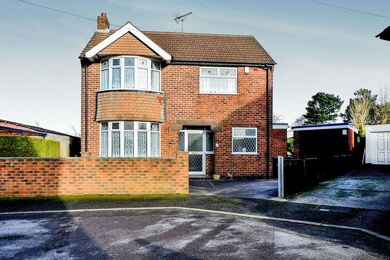 3 Bedrooms Detached House for sale in Nest Crescent, Kirkby-In-Ashfield, Nottingham, NG17