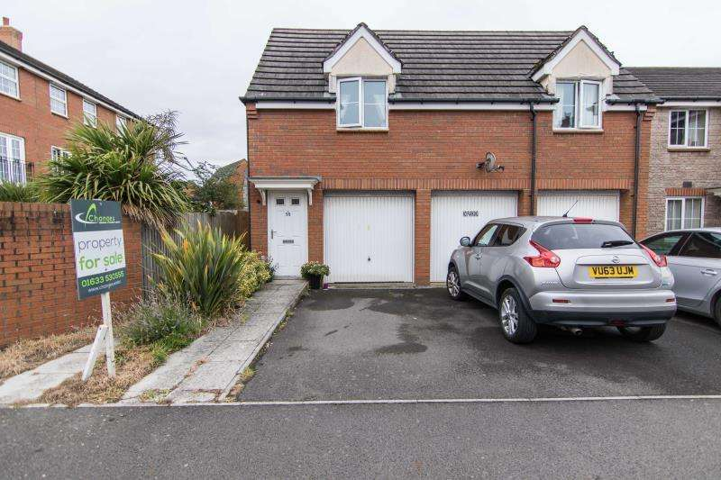 2 Bedrooms Flat for sale in Grosmont Way, Celtic Horizon, Newport