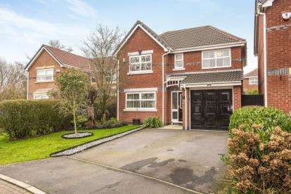 4 Bedrooms Detached House for sale in Broom Close, Leyland, Lancashire, PR25