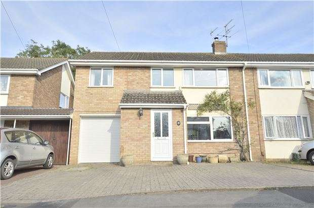 4 Bedrooms Semi Detached House for sale in Hulbert Close, Swindon Village, CHELTENHAM, GL51