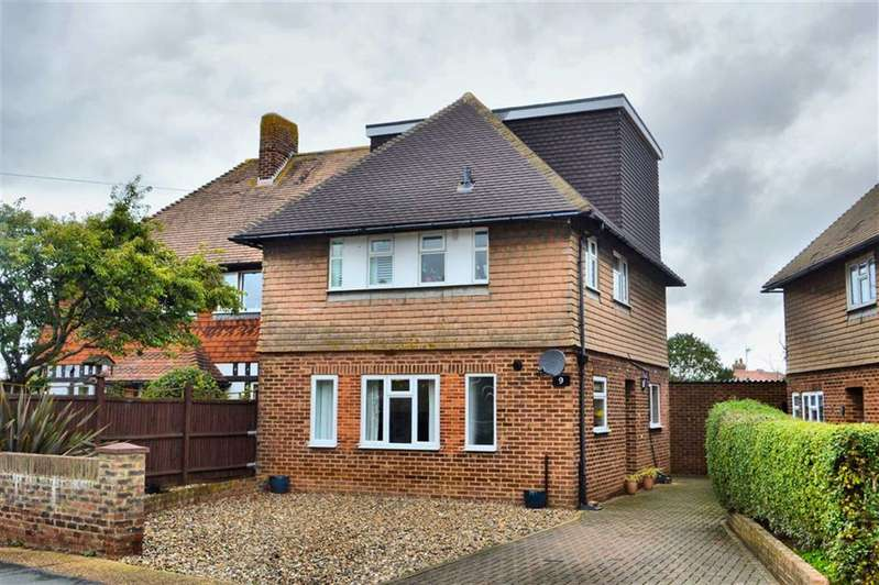 4 Bedrooms Semi Detached House for sale in Walmer Road, Seaford, East Sussex