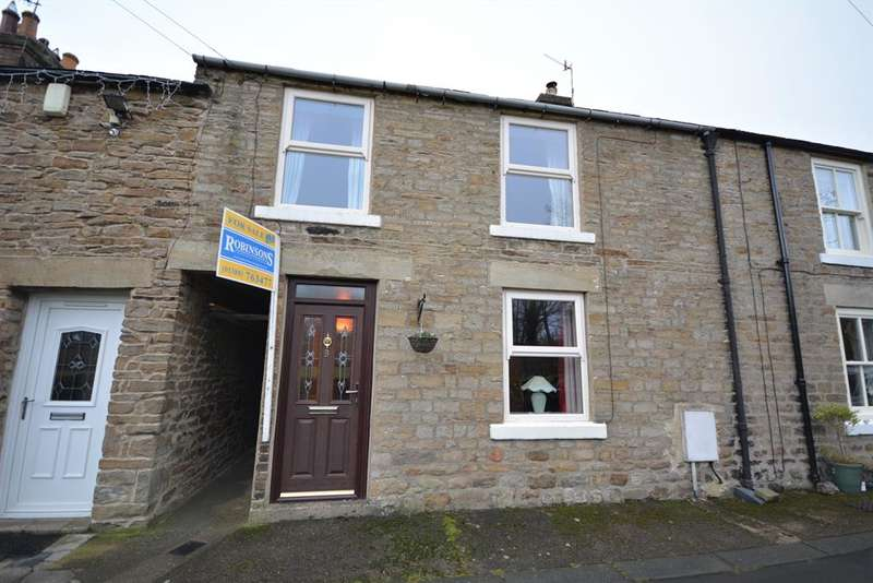 3 Bedrooms Terraced House for sale in The Batts, Frosterley, Bishop Auckland, DL13 2SB