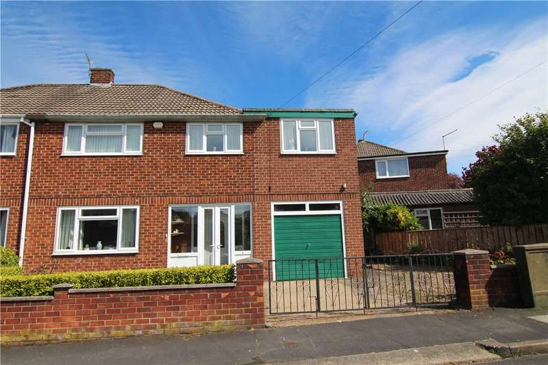 4 Bedrooms Semi Detached House for sale in Grange Road, Carrville, Durham, DH1