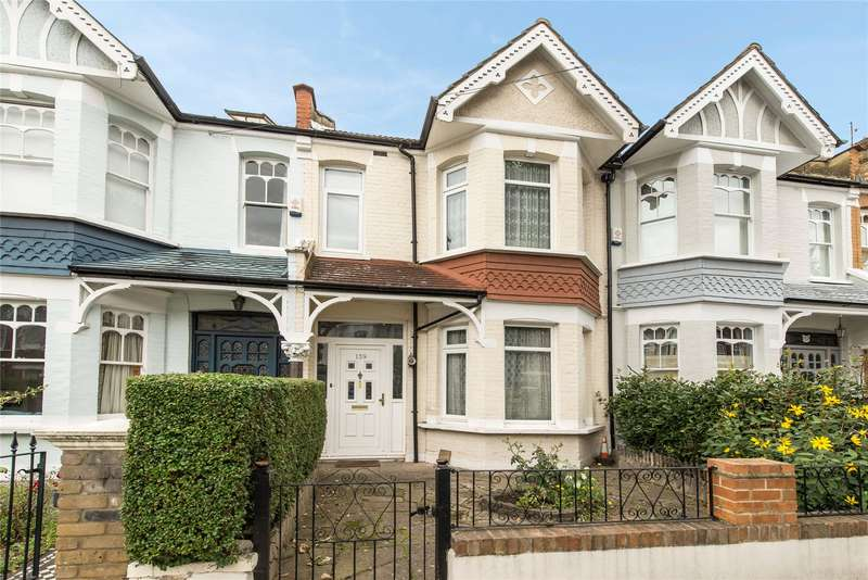 3 Bedrooms Terraced House for sale in Heythorp Street, Southfields, London, SW18