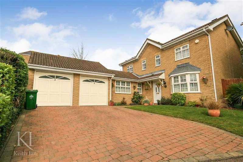 4 Bedrooms Detached House for sale in The Poplars, West Cheshunt