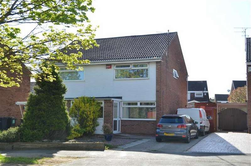 2 Bedrooms Semi Detached House for sale in Hope Farm Road, Great Sutton, CH66