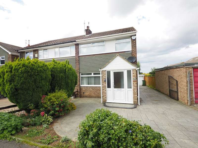 3 Bedrooms Semi Detached House for sale in Quorn Close, Guisborough TS14