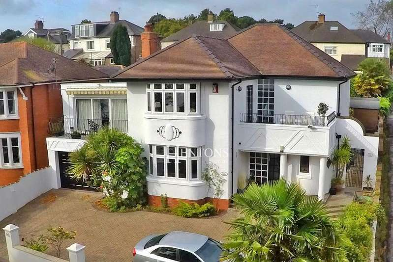4 Bedrooms Detached House for sale in Lake Road West, Roath Park, Cardiff