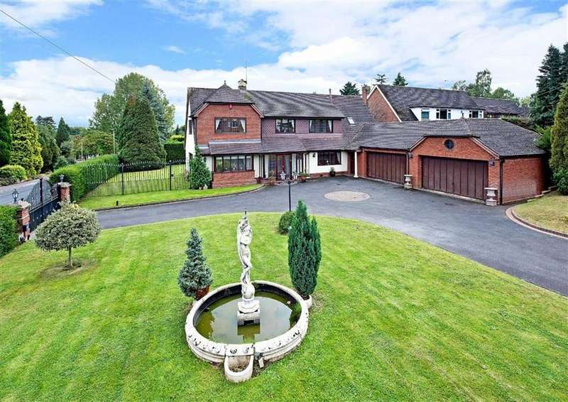 5 Bedrooms Detached House for sale in Parklands, 29, Perton Road, Wightwick, Wolverhampton, West Midlands, WV6