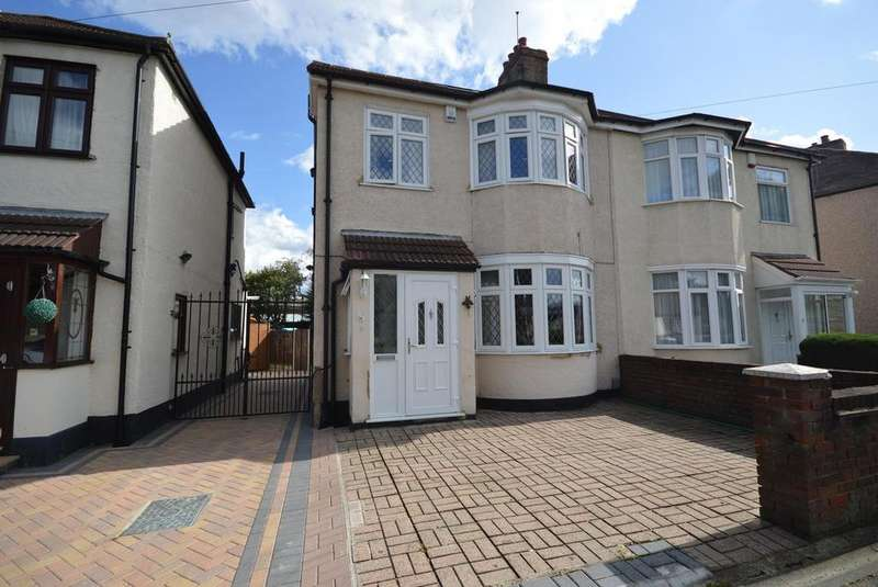 4 Bedrooms Semi Detached House for sale in Cedar Road, Romford, RM7