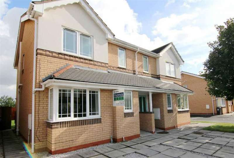 3 Bedrooms Semi Detached House for sale in St. Davids Court, Connah's Quay